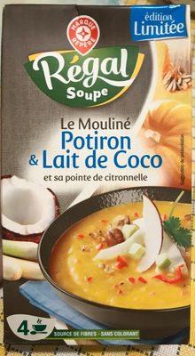 Le Mouliné Potiron & Lait de Coco - Produit - fr