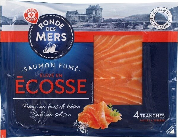 Saumon d'Ecosse 4 tranches - Product - fr