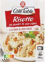 Poulet et risotto champignons - Produit - fr