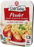 Poulet tomate puree courgette - Produit