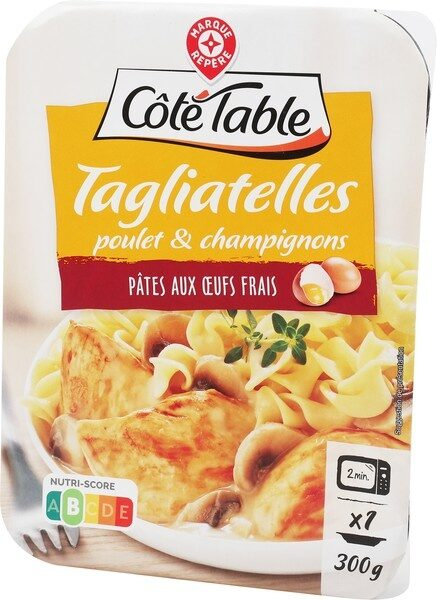 Tagliatelles poulet champignon - Product - fr