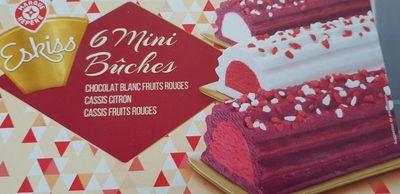 6 mini buches - Produit