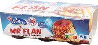 Flan vanille nappe caramel - Produit