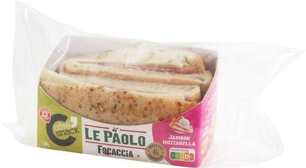 Pani'talia jambon mozza x2 - Product