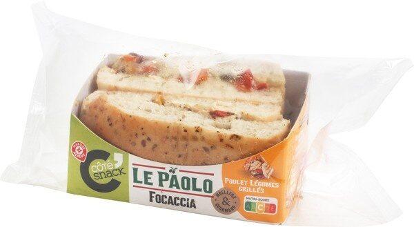 Pani'talia poulet legumes x2 - Produit - fr