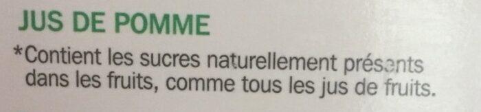Pur jus pomme bk - Ingrédients - fr