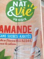 Boisson amande sans sucres ajoutés brique - Produit - fr