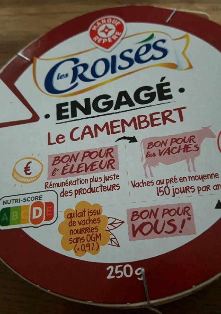 Camembert engagé - Product - fr