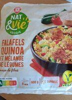 Falafels quinoa et mélange de légumes - Product - fr