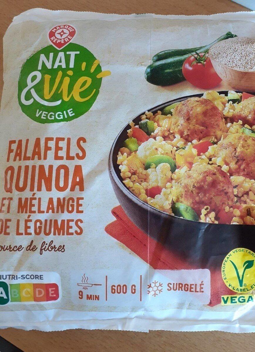 Falafels quinoa et mélange de légumes - Produit - fr