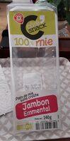 Sandwich jambon emmental 100% mie - Produit