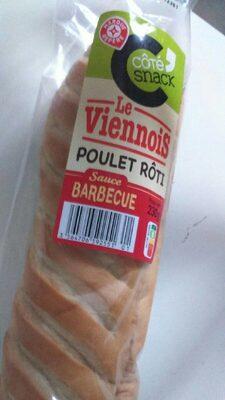 Sandwich poulet rôti sauce barbecue - Produit - fr