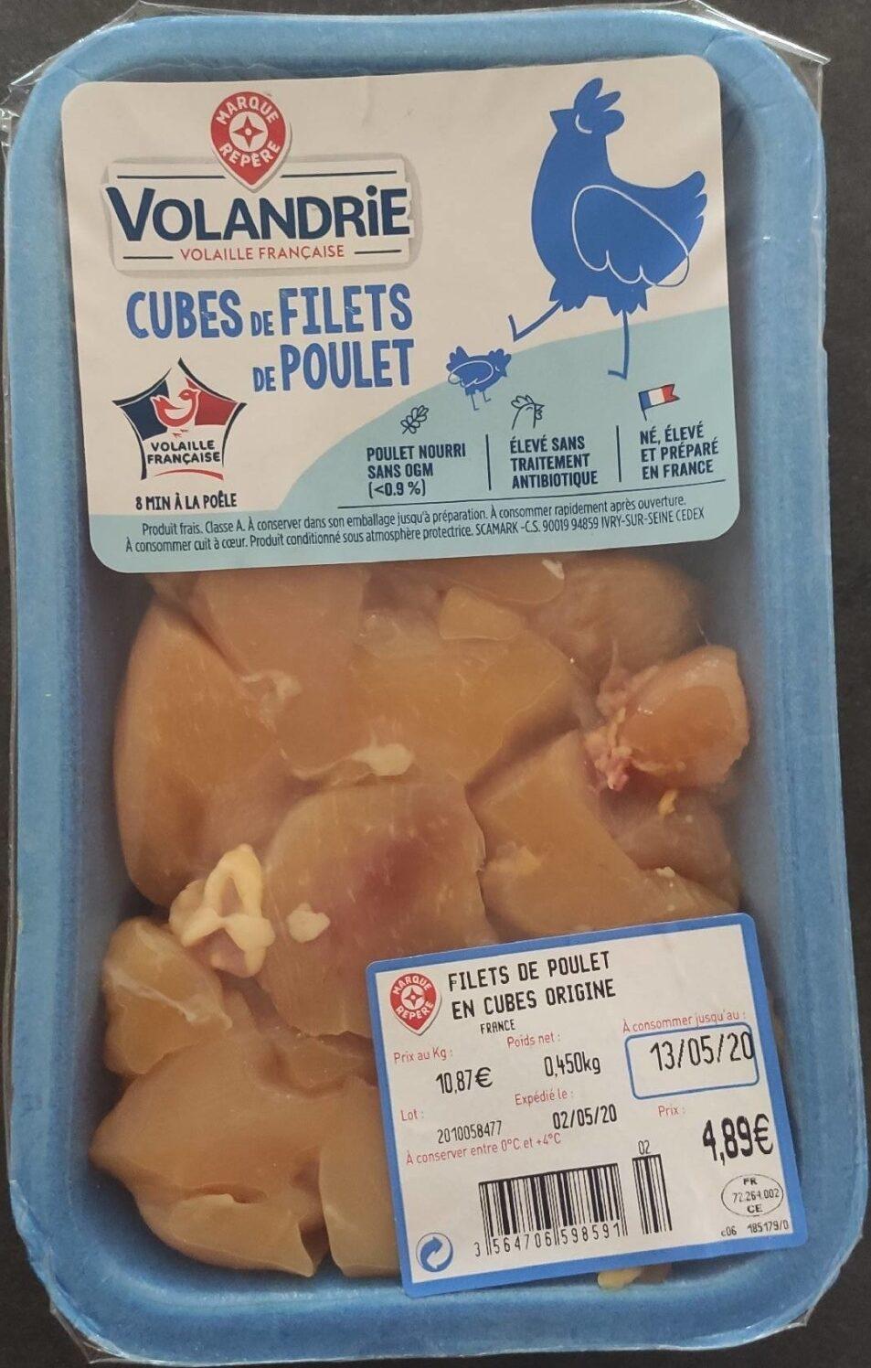 Cubes de filets de poulet - Prodotto - fr