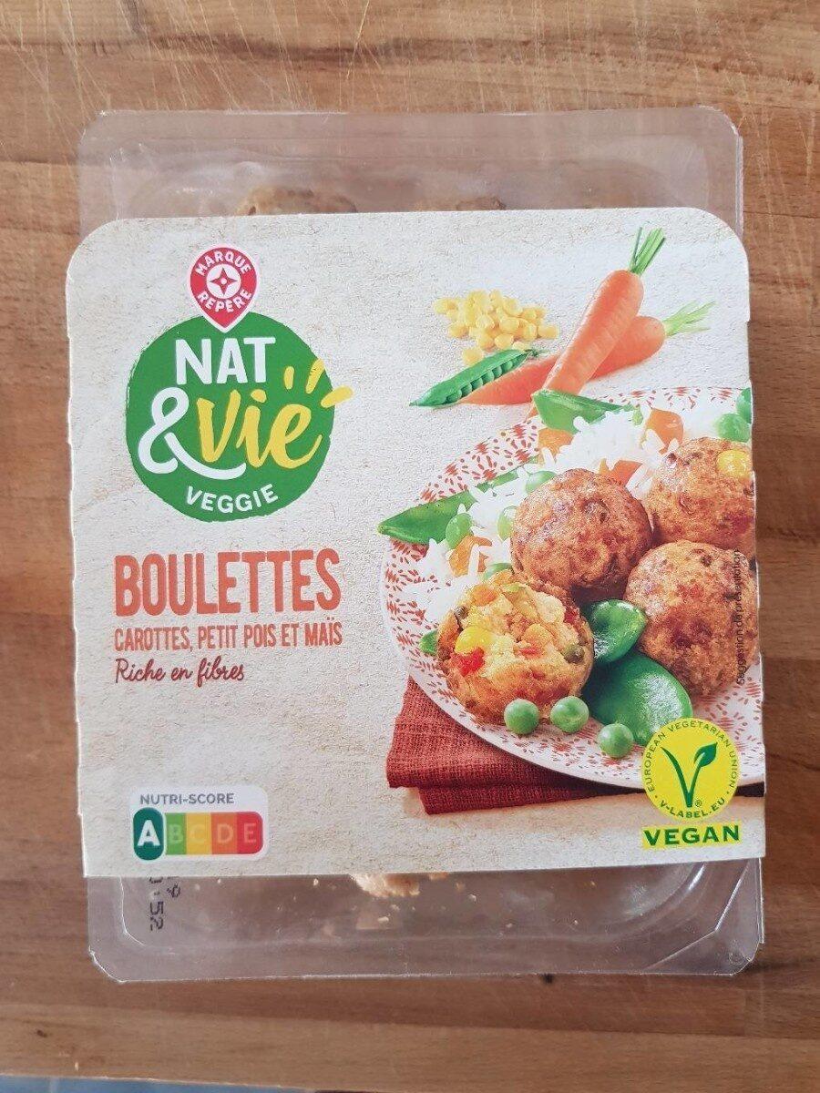 Boulettes carottes, petits pois et maïs - Product
