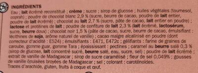 Sapin Glacé - Ingrédients