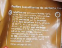 Grainéa müesli 4 noix - Ingrédients - fr