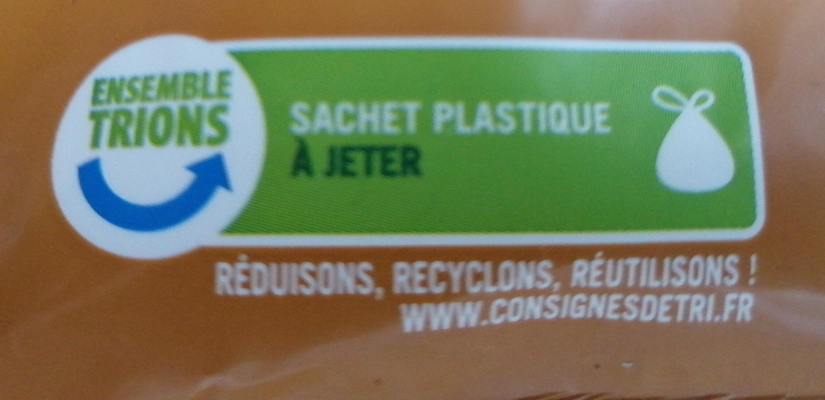 Grainéa müesli 4 noix - Instruction de recyclage et/ou informations d'emballage - fr