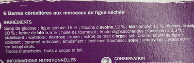 Grainea Au Figue - Ingrédients - fr