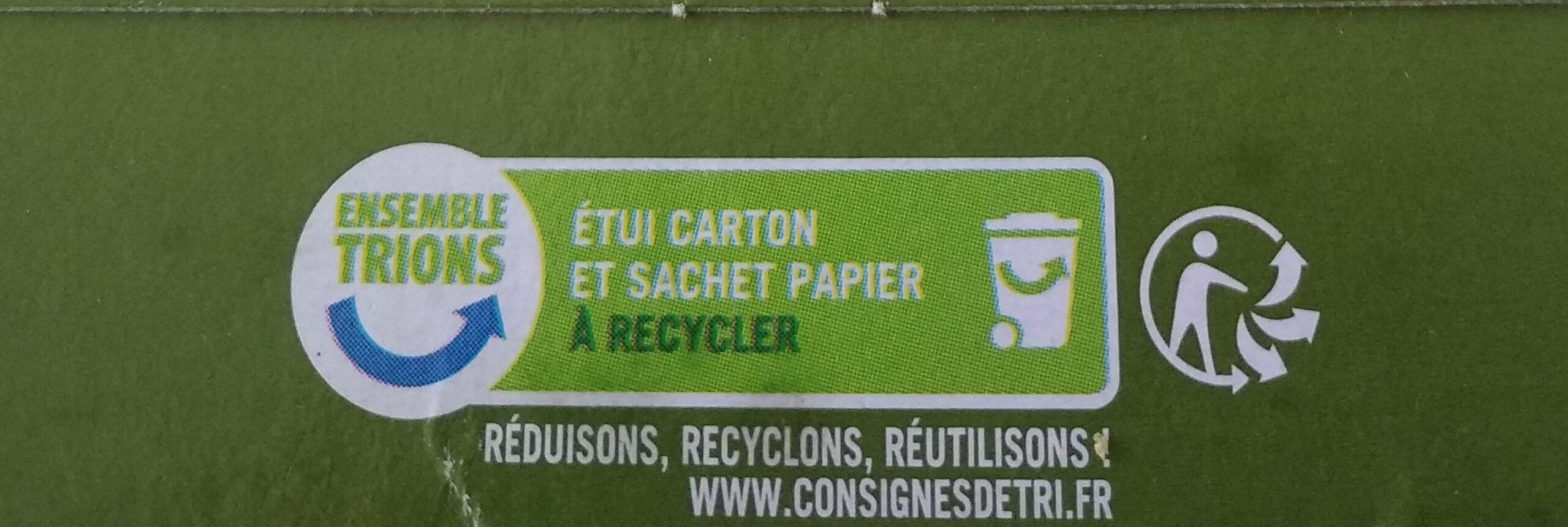 Flocons d'avoine - Instrucciones de reciclaje y/o información de embalaje - fr