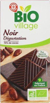 Chocolat noir 74% cacao - Produit