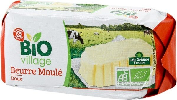Beurre doux bio 82% mg - Product
