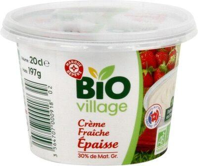 Crème fraîche épaisse bio 30 % Mat. Gr. - Product