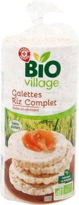 Galettes de riz complet bio - Product - fr