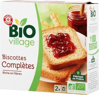 Biscottes complètes x 34 - Product