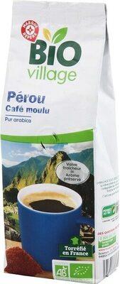 Café moulu du Pérou bio pur Arabica - Produit