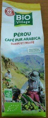 Café moulu du Pérou bio pur Arabica - Produit - fr