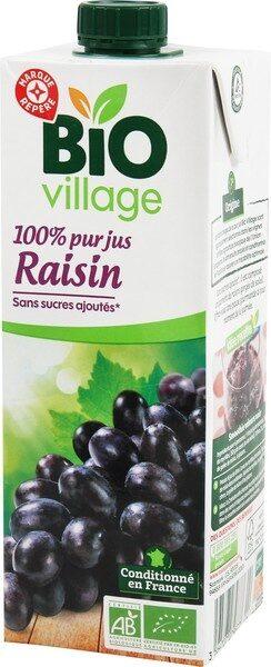 Pur jus de raisin 1 litre - Product