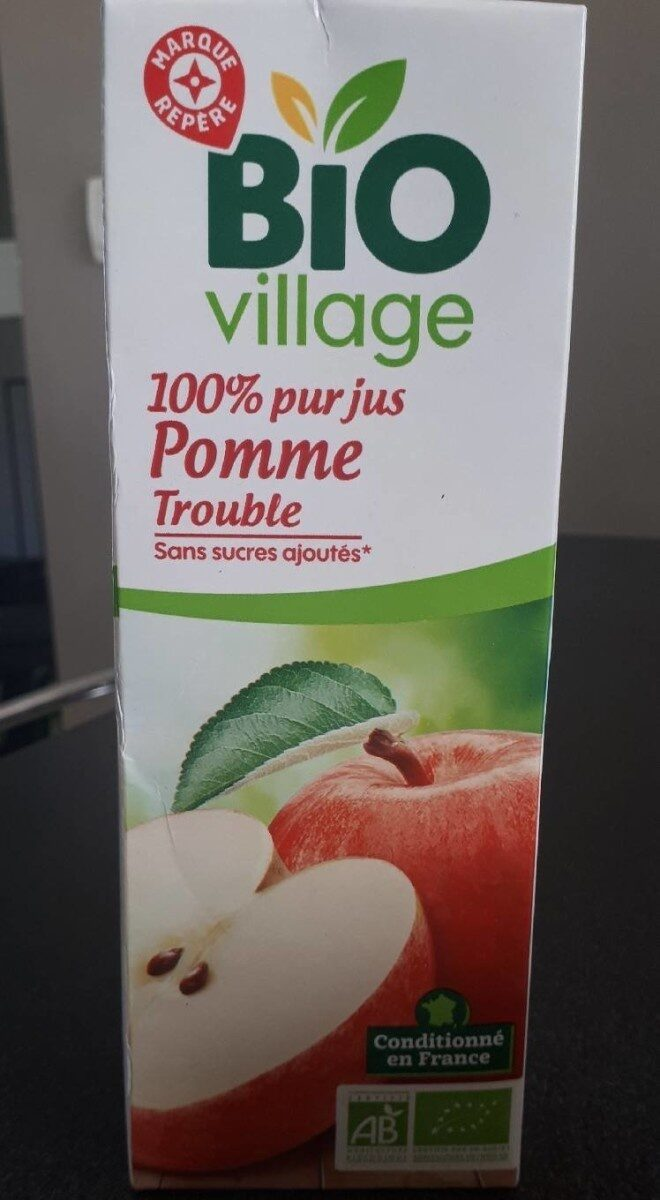 Pur jus pomme bio - Product - fr