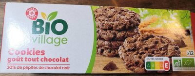 Cookies parfum tout chocolat bio - Product - fr