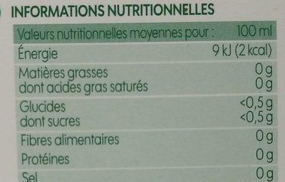 Infusion après repas (menthe/anis/mauve/réglisse) x 20 sachets - Voedingswaarden - fr