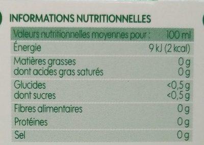 Infusion pour le soir (tilleul/mélisse/oranger/marjolaine) x 20 sachets - Voedigswaarden