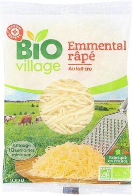 Emmental rapé bio 29% Mat. Gr. - Product
