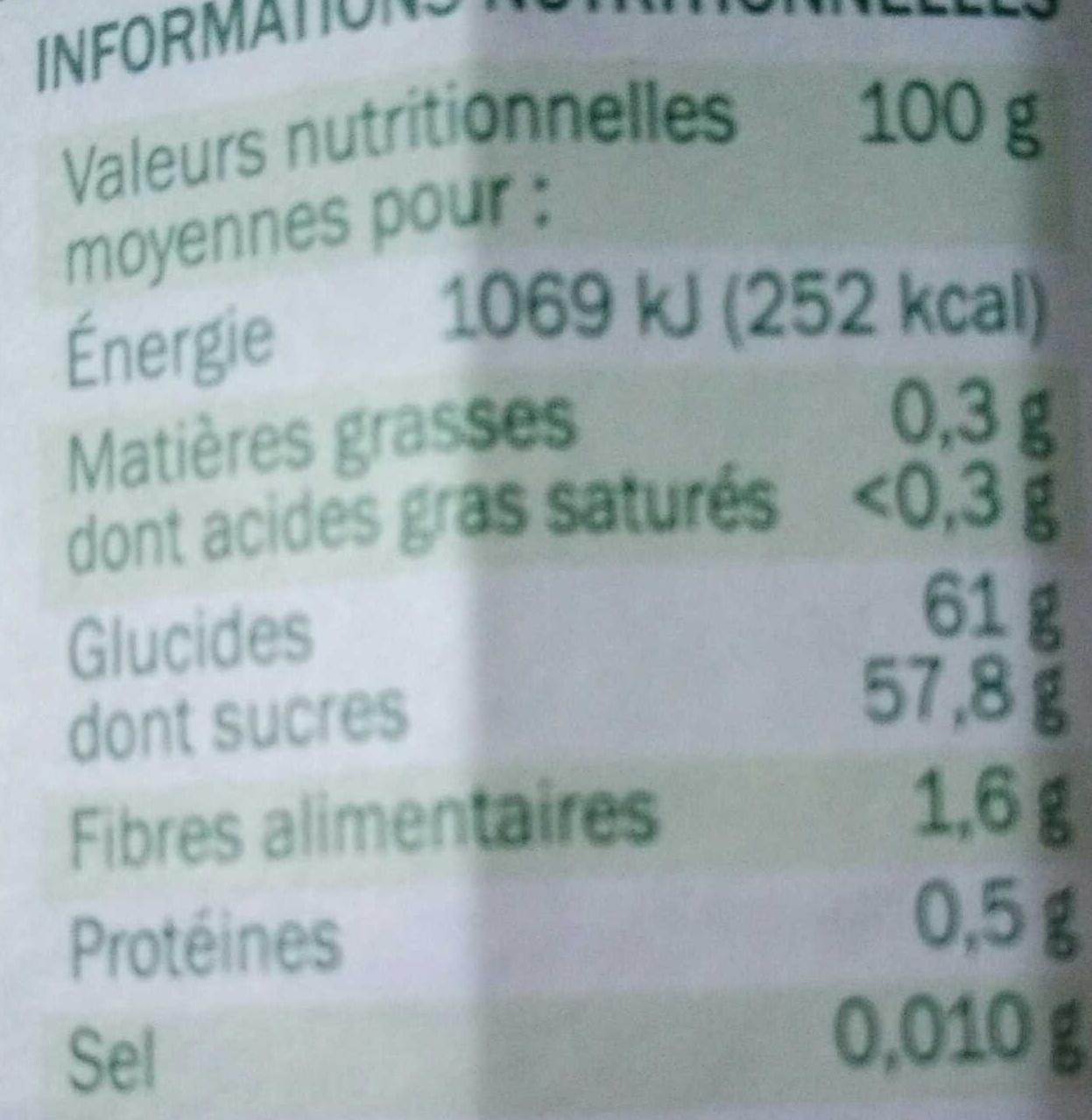 Myrtilles confiture extra bio village 375 g - Acide citrique leclerc ...