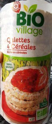 Galettes 4 céréales - Produit