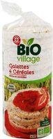 Galettes 4 céréales bio - Produit