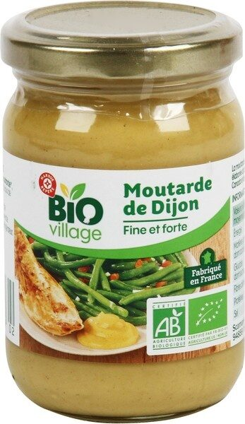 Moutarde de Dijon bio - Produit - fr