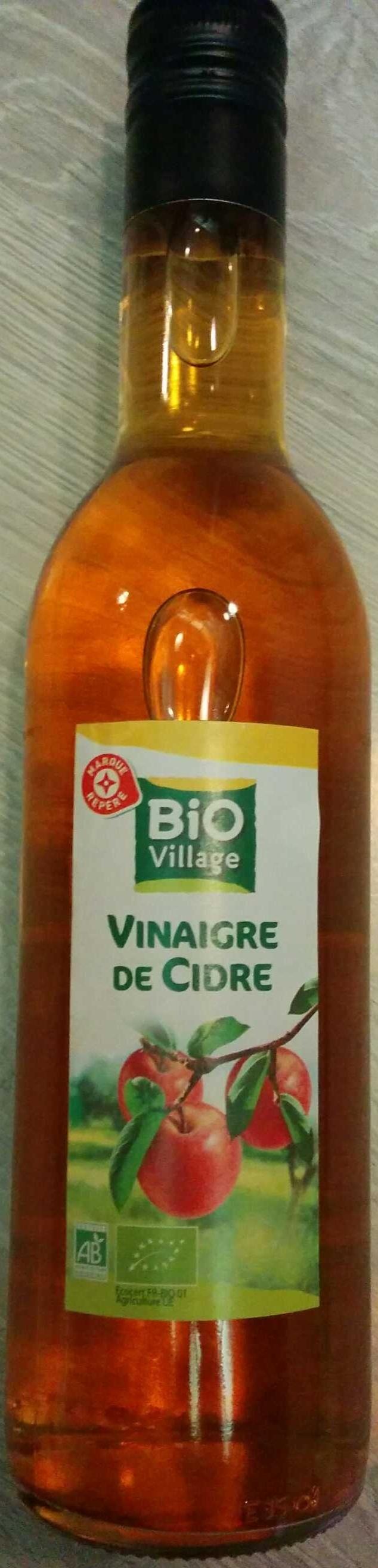 Vinaigre de cidre (5% acidité) - Bio Village - 50 cl