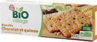 Biscuits pépites de chocolat quinoa - Product