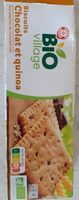 Biscuits pépites de chocolat quinoa - Produit - fr