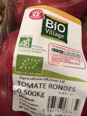 Tomate ronde - Ingrédients
