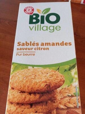 Sablés amandes saveur citron bio - Product - fr