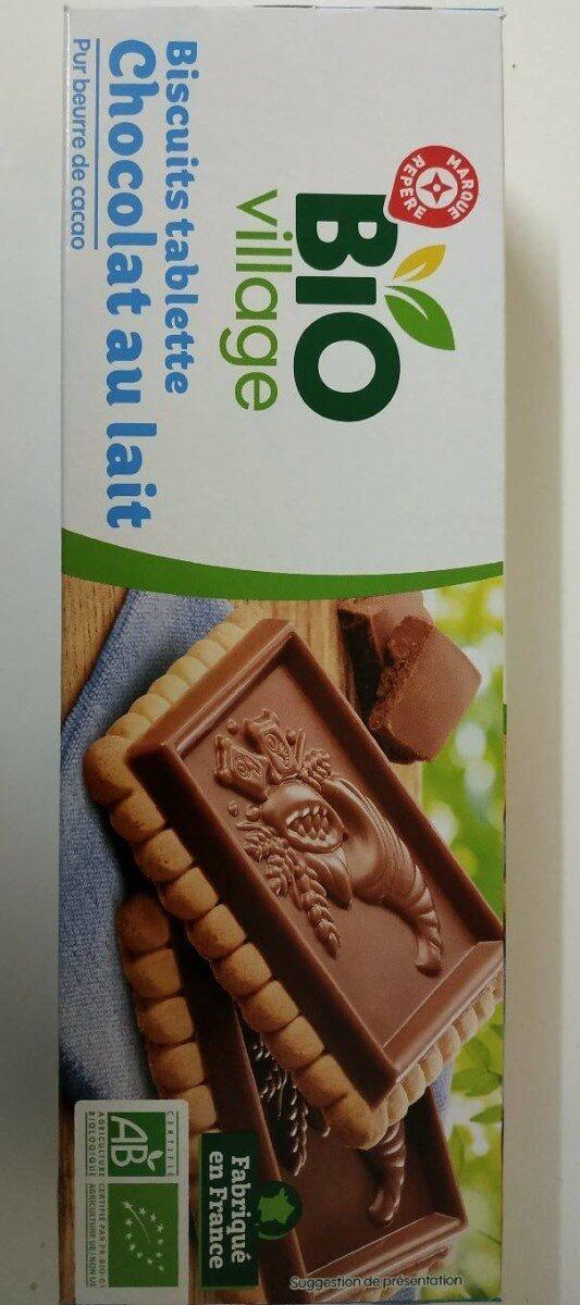 Biscuits tablette chocolat au lait - Produit