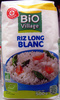 Riz long blanc Bio - Product