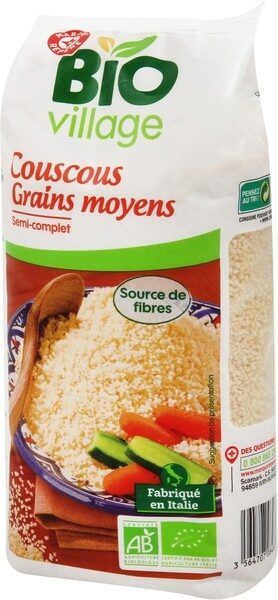 Couscous semi complet bio - Product