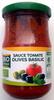 Sauce tomate olives basilic - Produit