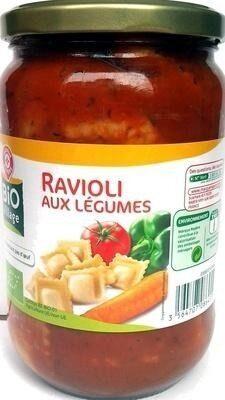 Ravioli aux légumes bio - Produit - fr